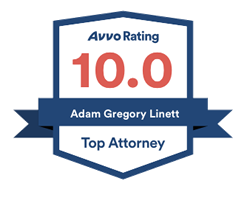 Adam Linett Avvo Rating